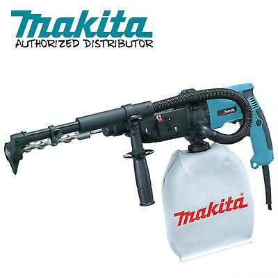 "Makita HR2432 1"" Rotary Hammer, SDS-PLUS, 3-Mode Built-in Dust Collection System"