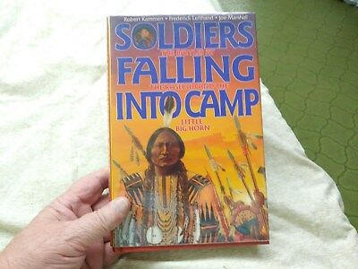 Soldiers Falling Into Camp Robert Kammen Others Signed 1st Ed Never Read