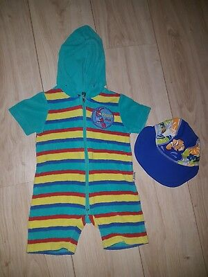 Jakoo Badeoverall Gr 68/74 Frotteeoverall