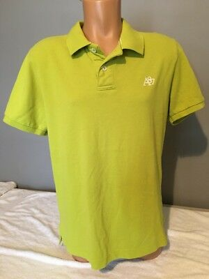 6c16936552c Mens Aeropostale a87 Solid Logo Pique Polo - Green - Size Large - NWT