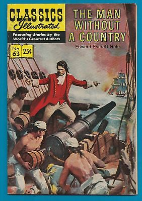 Classics Illustrated Comic Book 1969 The Man without a country # 63  #046