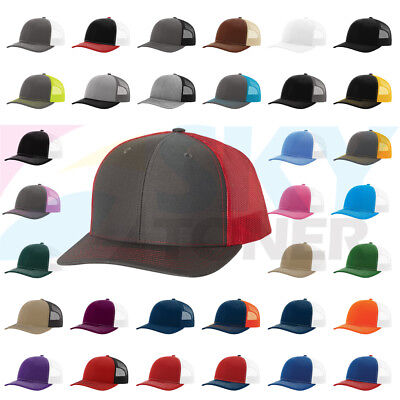 541a49c56c5 NEW! RICHARDSON TRUCKER Ball Cap Meshback Hat Snapback 2-Tone Cap ...