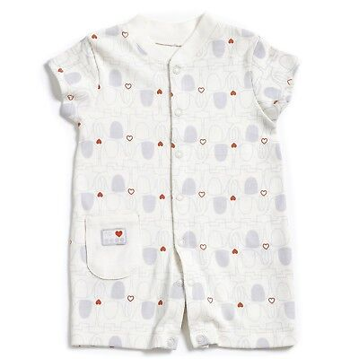 Natures purest My 1st Friend Organic Cotton Romper Suit 3-6 Months  (0145B)
