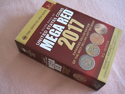 2017 Guide Book of US Coins; Mega Red; R.S. Yeoman