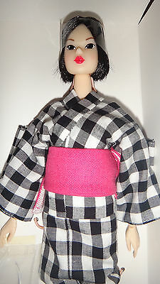 Petworks Momoko Close Clipped Sheep CCS07SS Yukata Brunette Black doll 1/6 scale