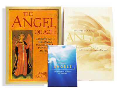 Angel Lovers Bundle: The Angel Oracle, Big Book of Angels, Whispering Angels