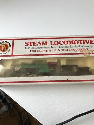Bachmann Steam Locomotive 2-8-0 And Tender. Great Northern. Rare