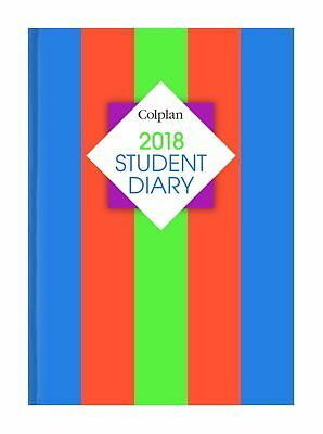 Collins Debden Colplan 2018 A5 Student Diary Planner Week to View WTV SC37 NEW