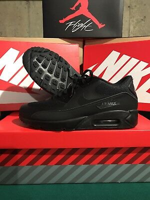 check out 8ba42 cced5 ... reduced nike air max 90 ultra essential 2.0 triple black 875695 002  sneakers trainers 09752 f488e