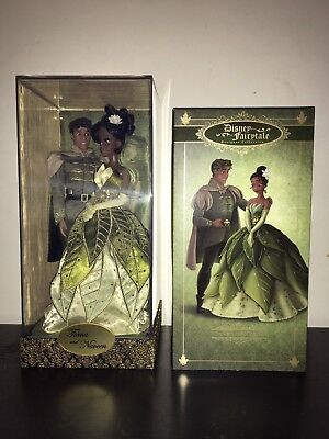 Disney Limited Edition Designer Tiana and Naveen