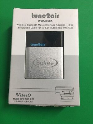 ViseeO BoVee Tune2Air WMA3000A Bluetooth Adapter Audi BMW Mercedes & Volkswagen