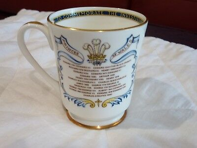 Aynsley China Princes of Wales Mug