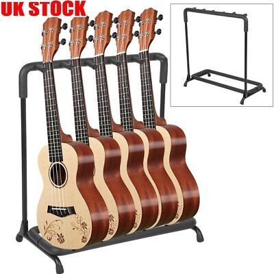 UK 3 5 7 9 Way Multi Guitar Holder Stand Acoustic Electric Bass Guitar Rack Fast