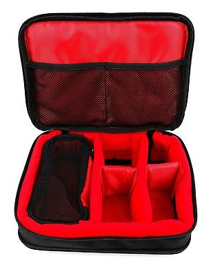 (Red) - Protective EVA Portable Case (in Red) for GoClever DVR Mini / GoClever