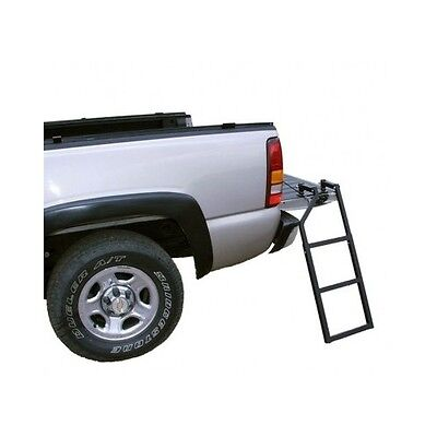 Tailgate Truck Ladder Folding Portable Pickup Easy Step Mount Heavy Duty Climb