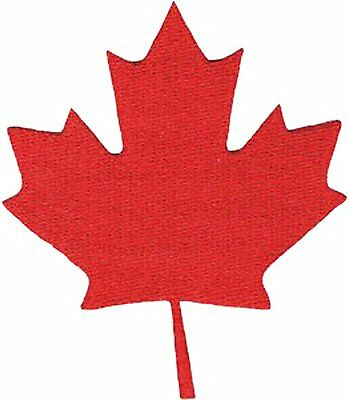 Patch - C&D - Canada Maple Leaf Iron-On p-4499