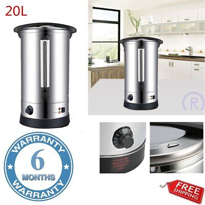 Electric 8 20 35L Commercial Catering Kitchen Hot Water Boiler Tea Urn Coffee R3