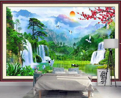 Fairy Blunt Valley 3D Full Wall Mural Photo Wallpaper Printing Home Kids Decor