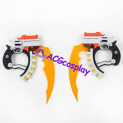 .Hack Xth Form Haseo Blade Twin Blade pvc made cosplay prop ACGcosplay