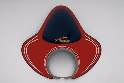 IDEAL FLYSCREEN by ROYALE VESPA GS VBA VBB & OTHER 130mm HEADSETS RAYBAND RED