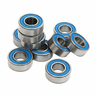 10Pcs MR115 2RS Ball Bearings 5x11x4mm For Traxxas Slash Rustler Stampede W T3H4