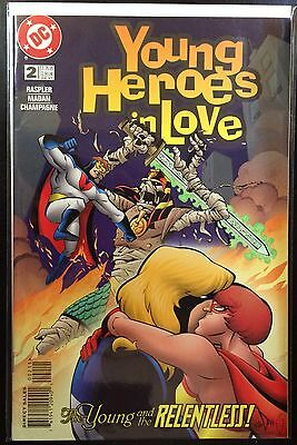 Young Heroes in Love #2 VF+ 1st Print DC Comics