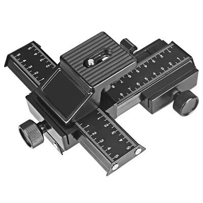 (Macro Focusing Slider Rail) - UTEBIT Macro Focusing Slider Rail Metal 4 Way