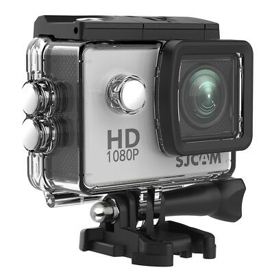 (Silver) - SJCAM SJ4000 Waterproof Action Camera HD 1080P Underwater Camera