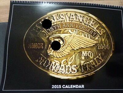 Hells Angels Italy calendario Calendar 2015 support 81 big red machine