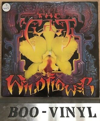 "The Cult - Wild Flower - Love Trooper - Vinyl Record 7"" Single - BEG 195 Ex"
