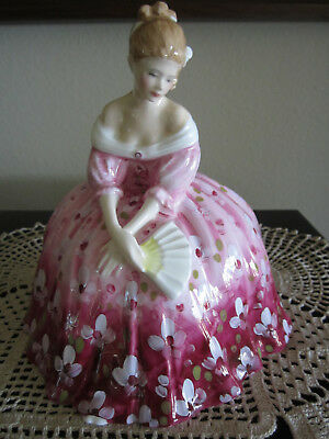 """Royal Doulton Figurine, """"victoria"""", Hn2471 By Peggy Davies,1972, Great Condition"""