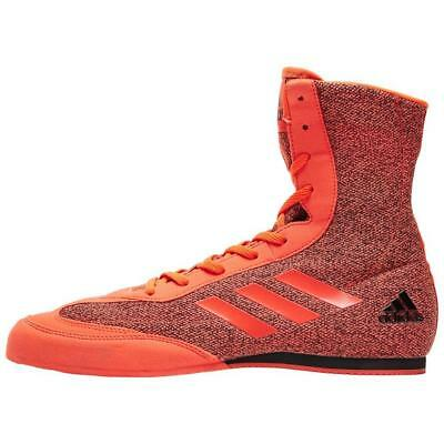 New Adidas Box Hog Plus Men's Boxing Shoes Sports Footwear Red