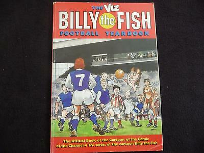 The Viz Billy the Fish Football Yearbook book (LOT#1782)