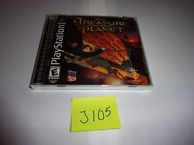 DISNEY'S TREASURE PLANET Playstation 1 Game NEW IN BOX FACTORY SEALED
