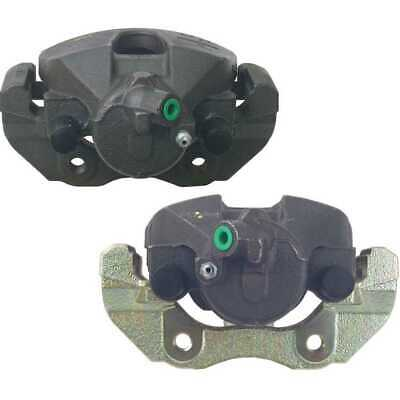 New Pair of Front Left and Right Premium Brake Caliper Set fits Ford Mazda Volvo