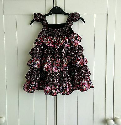 Baby Gap Girls Ruffle dress 6-12 months