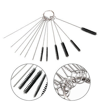 5 Brushes 10 Cleaning Needles Carburetor Carbon Dirt Jet Cleaner Tool For Yamaha