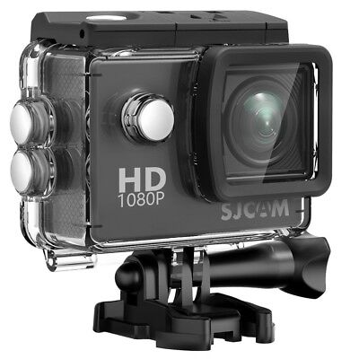 (Black) - SJCAM SJ4000 Waterproof Action Camera HD 1080P Underwater Camera