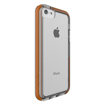 New Tech21 Impactology Impact Frame Clear/Orange Phone Case For iPhone 5/5S
