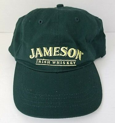 Jameson Irish Whiskey Baseball Cap Hat Fitted S/M Stretch Promo Item Adult NEW