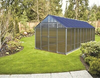 Monticello 8 x 20 Mojave Greenhouse in two finishes
