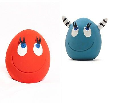 DOG TOYS: OVO The Egg (2 LARGE & 2 VIKING) by LANCO (for catch and fetch games)