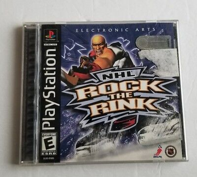 nhl rock the rink ps1