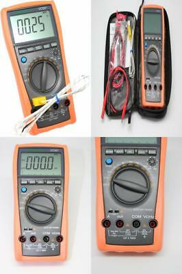 AideTek VC99+ Digital Auto Range Multimeter Tester Capacitor Amp Voltage AC...