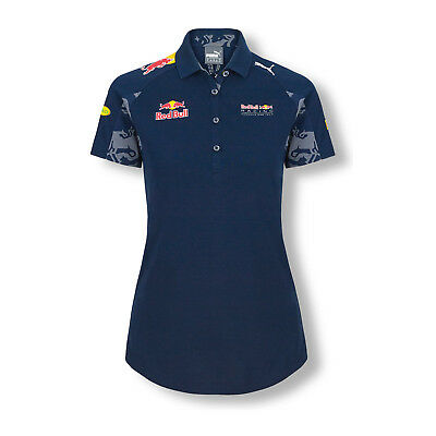 Damen Poloshirt Teamline Infiniti Red Bull Racing FAN M