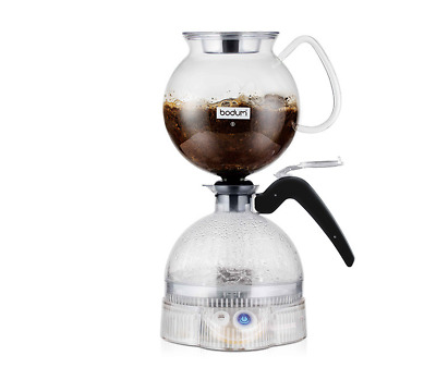 Bodum ePEBO Electric Vacuum Coffee Maker, 1.0 L - Clear 11744-01AUS  RRP $199.95