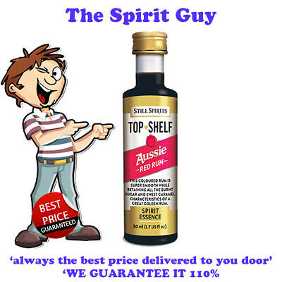 AUSSIE RED RUM SPIRIT ESSENCE X 1 @ $6.49 ea By STILL SPIRITS - 30142 Top Shelf