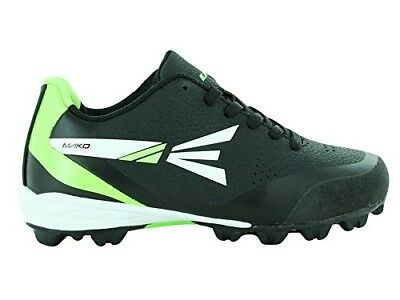 (1.5, Black/Lime) - Easton MAKO Low Kids' Baseball Cleats. Shipping is Free