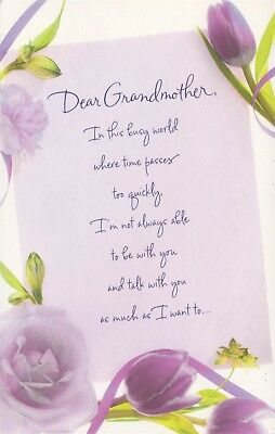 American greetings mothers day card wifei love you because you american greetings mothers day card i feel grateful that youre my grandmother m4hsunfo