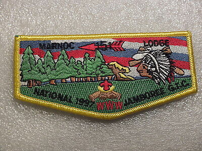 Order Of The Arrow Patch-Marnoc Lodge 151 Www-National Jamboree G.t.c.-1997
